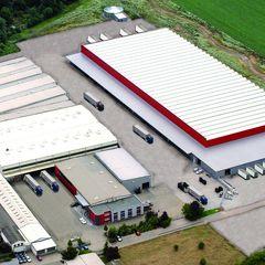 Das moderne Logistikzentrum von Reifen Krupp, Schifferstadt (Baujahr 2010)