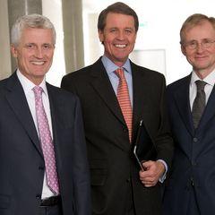 Hubert Reiff, Eberhard Reiff, Dr. Immanuel Kohn (v.l.n.r.) blicken optimistisch in die Zukunft
