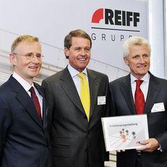Dr. Immanuel Kohn, Eberhard Reiff, Hubert Reiff