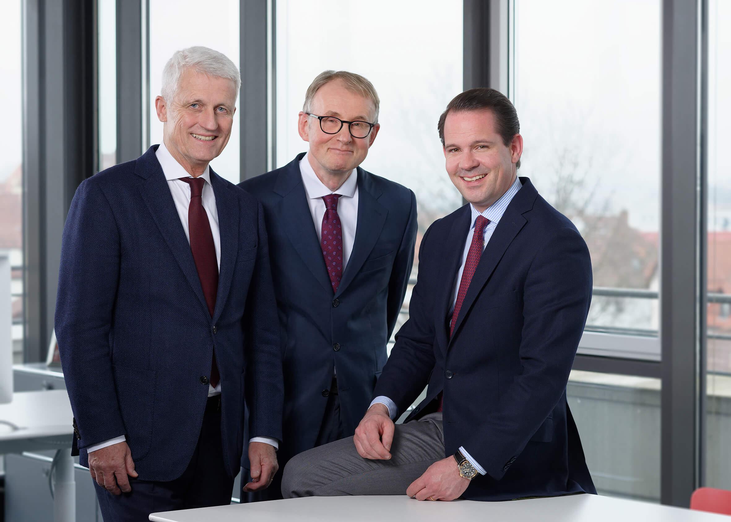 REIFF-Gruppe Geschäftsleitung: Hubert Reiff, Dr. Immanuel Kohn, Alec Reiff