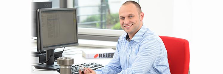 Markus Wiest, Anwendungstechniker im Produktbereich Antriebstechnik