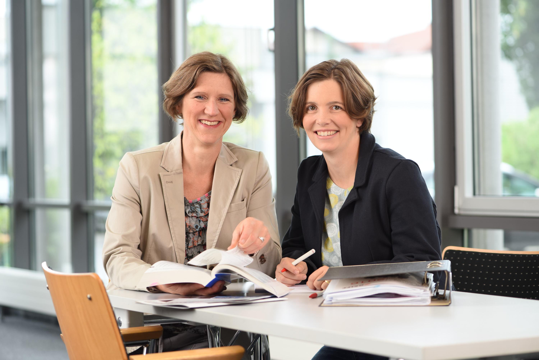 Iris Ammann-Walz und Julia Friebolin