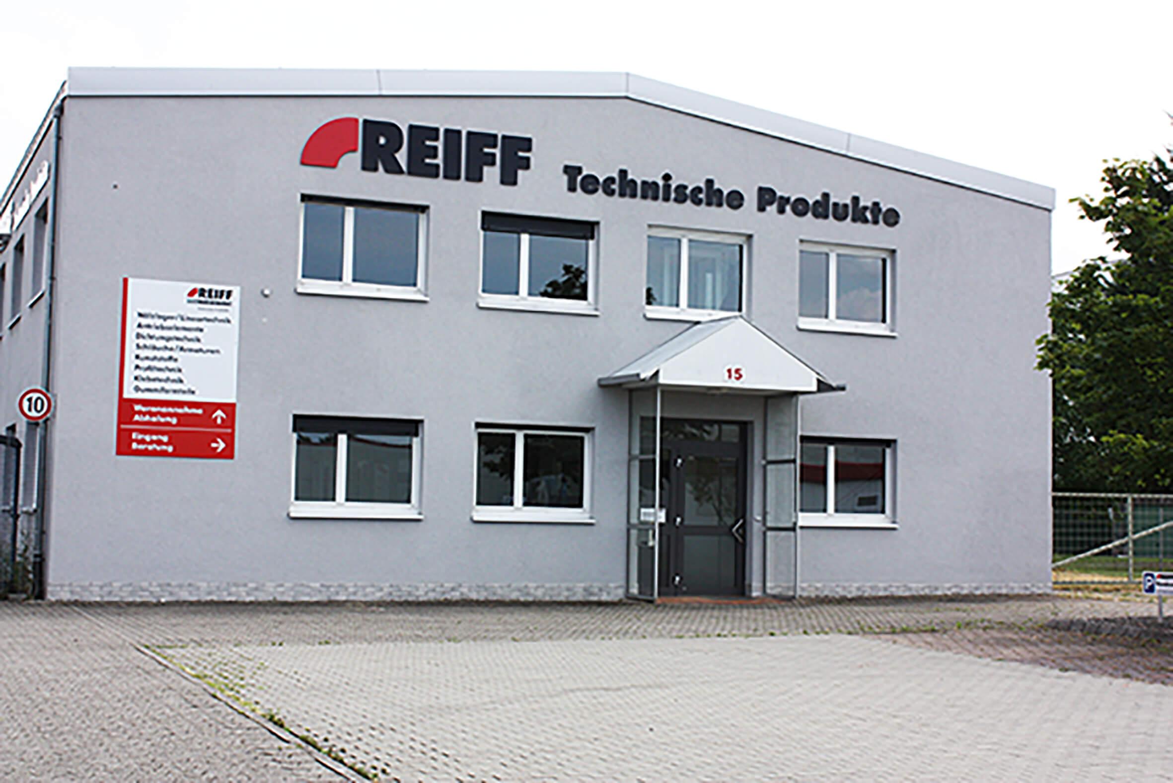 REIFF Technische Produkte Niederlassung in Offenburg